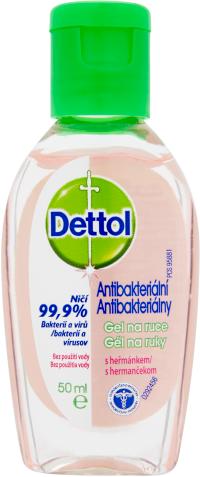Dettol antibakteriální gel na ruce s heřmánkem