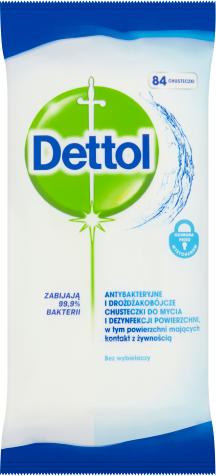 Dettol Antibakteriální ubrousky na porvrchy